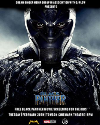 Baltimore Rapper Sends Kids to Black Panther Movie for Free